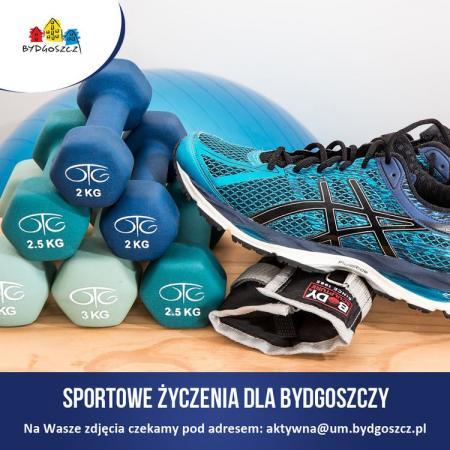 Złóż sportowe życzenia Bydgoszczy