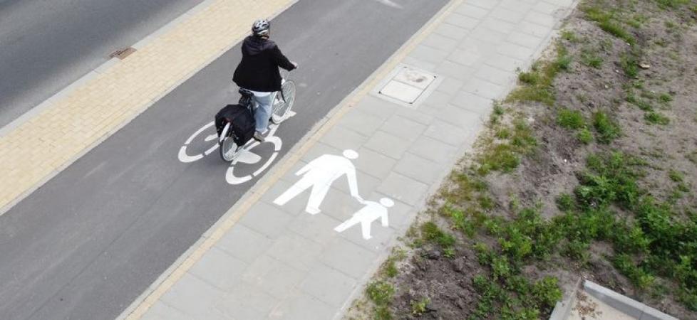 Nowa trasa rowerowa w Myślęcinku